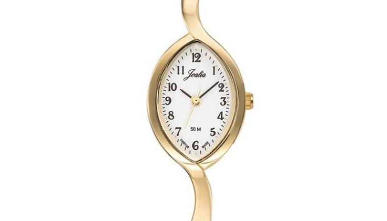 Montre femme Certus Joalia dorée bracelet fin