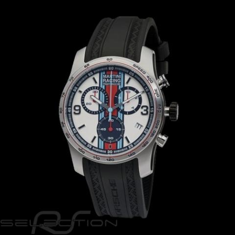 Montre Porsche Chrono Sport Martini Racing argent Porsche Design WAP0700020J